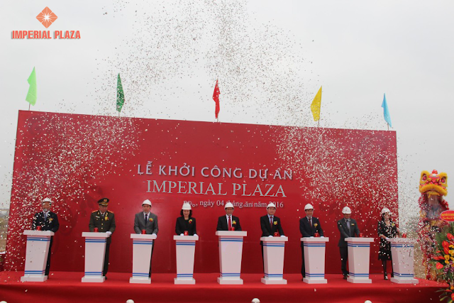 Lịch khởi công chính thức dự án Imperial Plaza