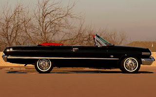 1963 Chevrolet Impala SS Convertible Side Right