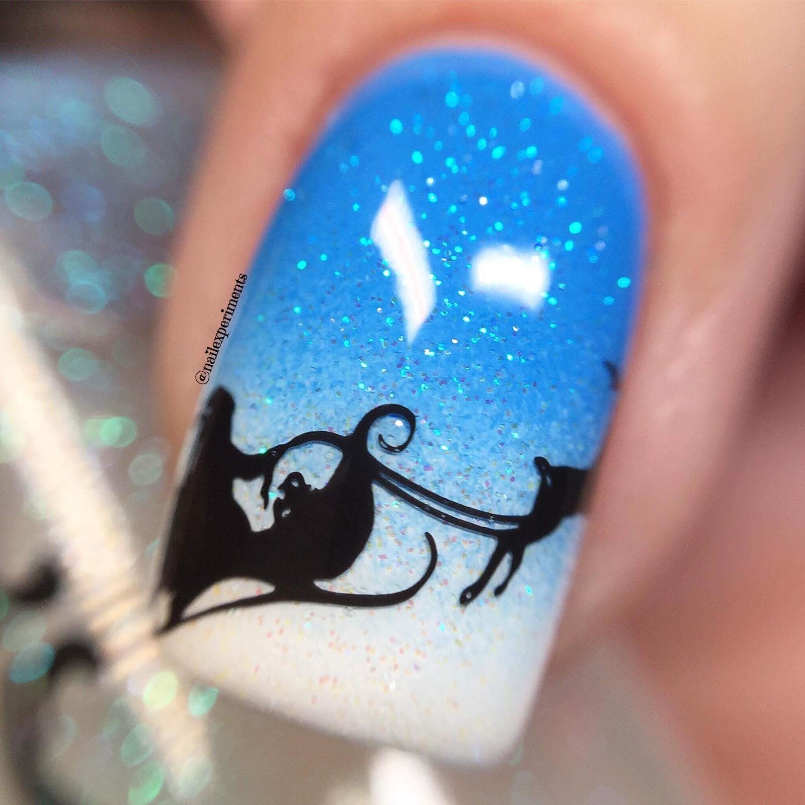 Nail Experiments Santa Claus Nail Art Video Tutorial