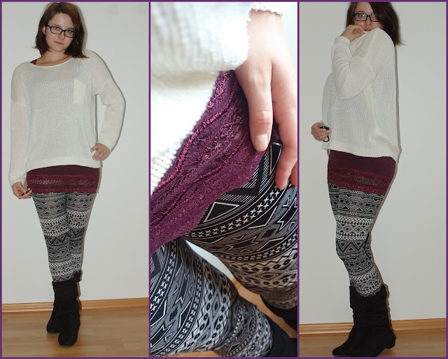 [Fashion] Azteken Leggins & Strickpullover
