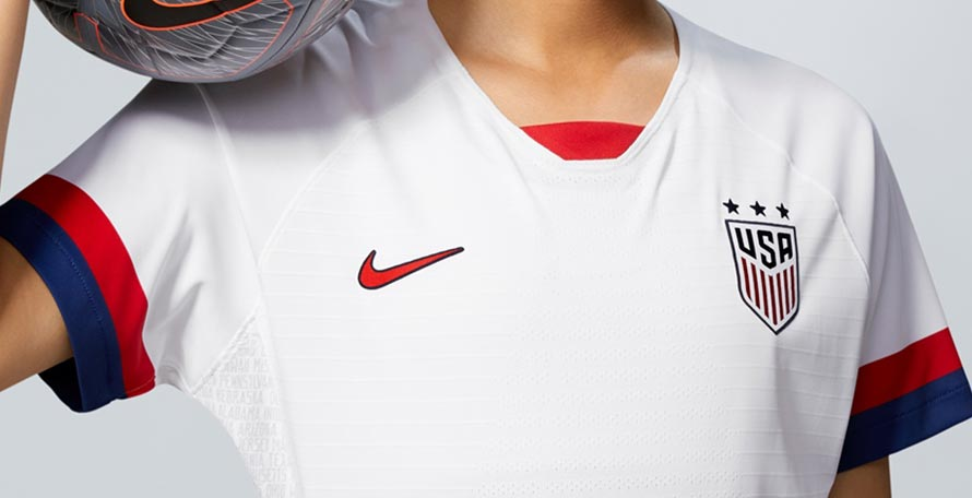 dfcda7f35 Nike just revealed the new USA 2019 Women s World Cup home and away kits
