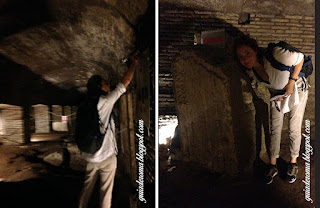 subterraneos sao nicola guia brasileira roma - Passeios aos Subterrâneos