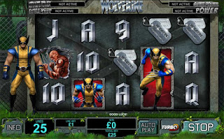 Marvel Movie Slots Games  - Wolverine