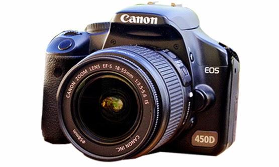 Harga Harga dan Spesifikasi Camera DSLR Canon EOS 450D Murah