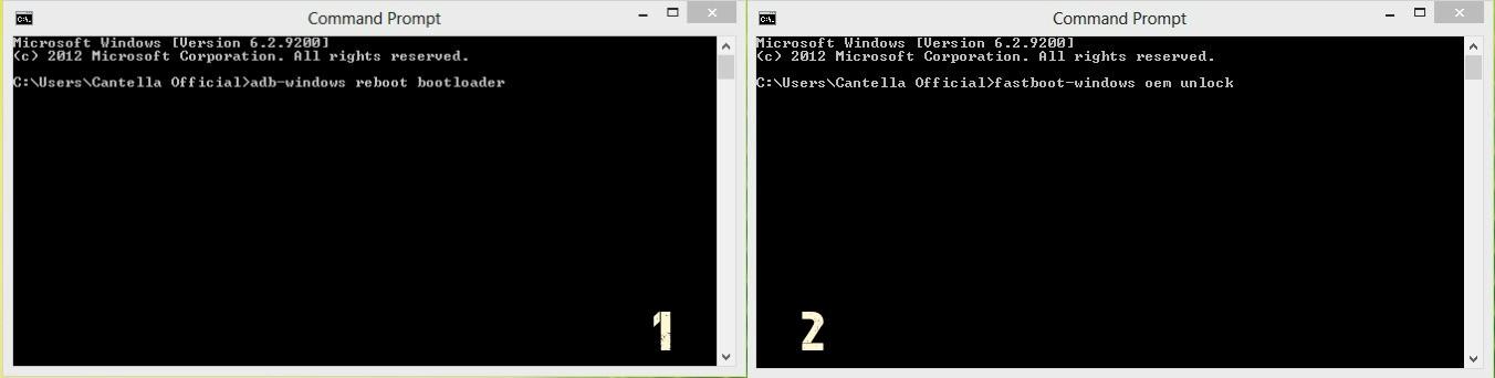perintah Command Prompt Asus Zenfone C
