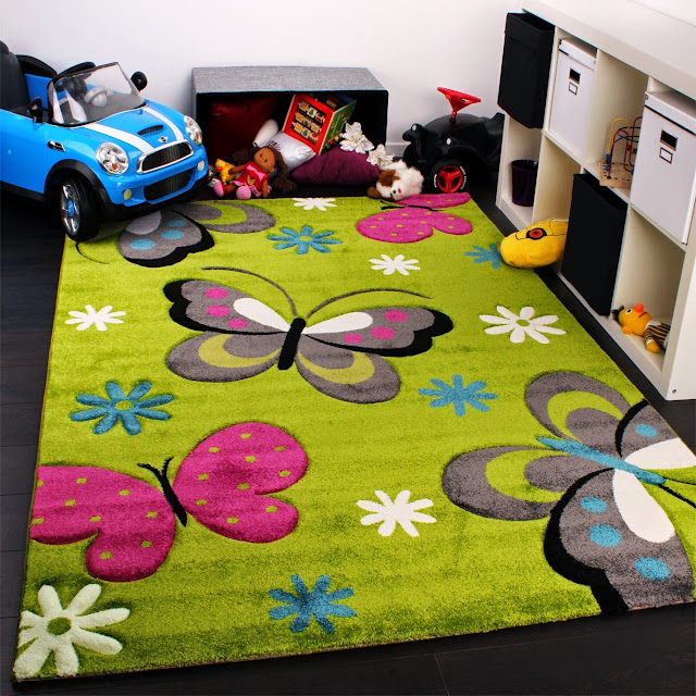 tapis chambre enfants pas cher pais color s et doux. Black Bedroom Furniture Sets. Home Design Ideas