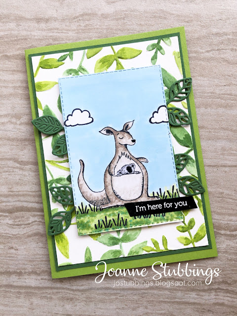 Jo's Stamping Spot - Paper Adventures Team Blog Hop - Australia - using Animal Outing stamp set by Stampin' Up!