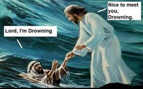 Lord, I'm Drowning!