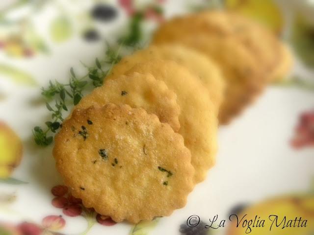 biscottini al timo limone