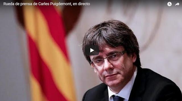 Puigdemont asegura que no habrá elecciones