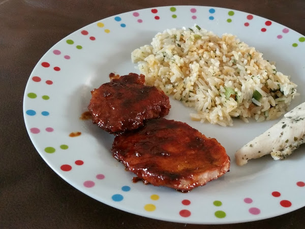 Sticky Chinese Style Pork Chops