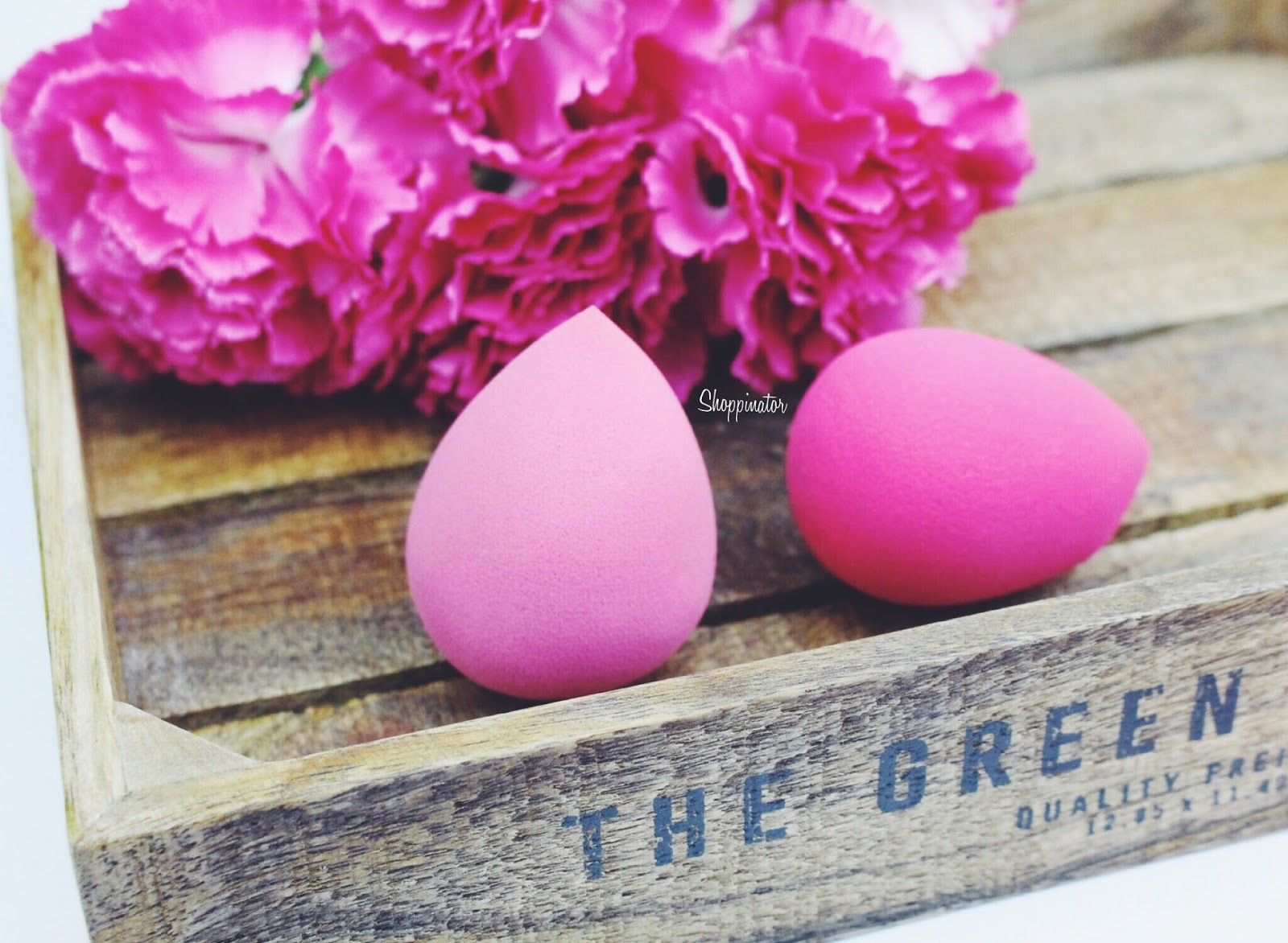 Shoppinator-Shoppination-Beautyblender-Vergleich-Original-Beautyblendervergleich-Test-Real-Techniques-Miracle-Complexion-Sponge-Schwamm-Ebelin-Ei-Make-Up-Ei-Der-beste-Make-Up-Schwamm-Rossmann-gut-Schminkei