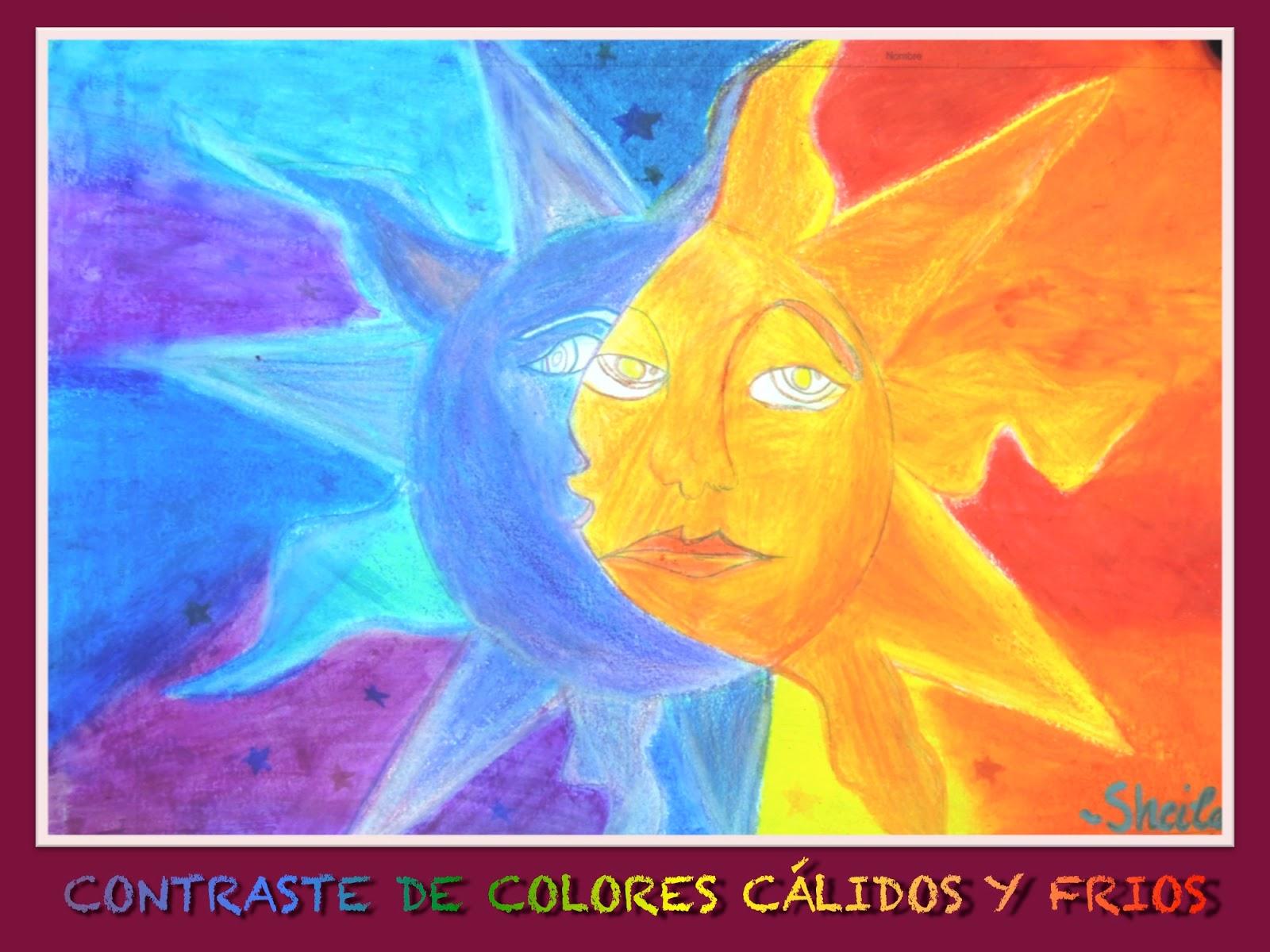 mesa y lapiz Colores clidos y frios 1 de ESO
