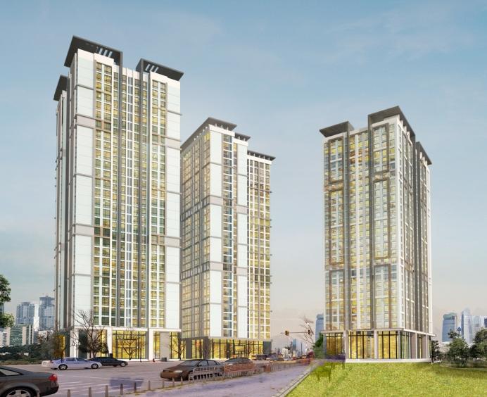 Phối cảnh tổng quan dự án chung cư Panorama Hoàng Mai
