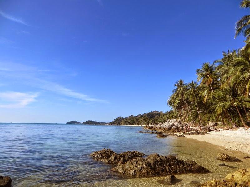 Красивый пляж на Самуи
