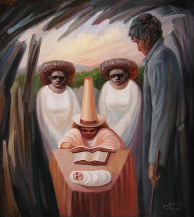 Pinturas de Oleg Shuplyak - Incríveis ilusões
