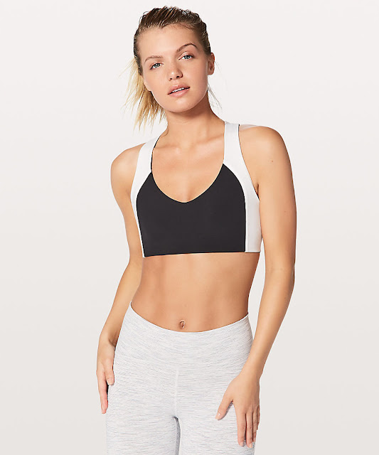lululemon sweat-times-bra