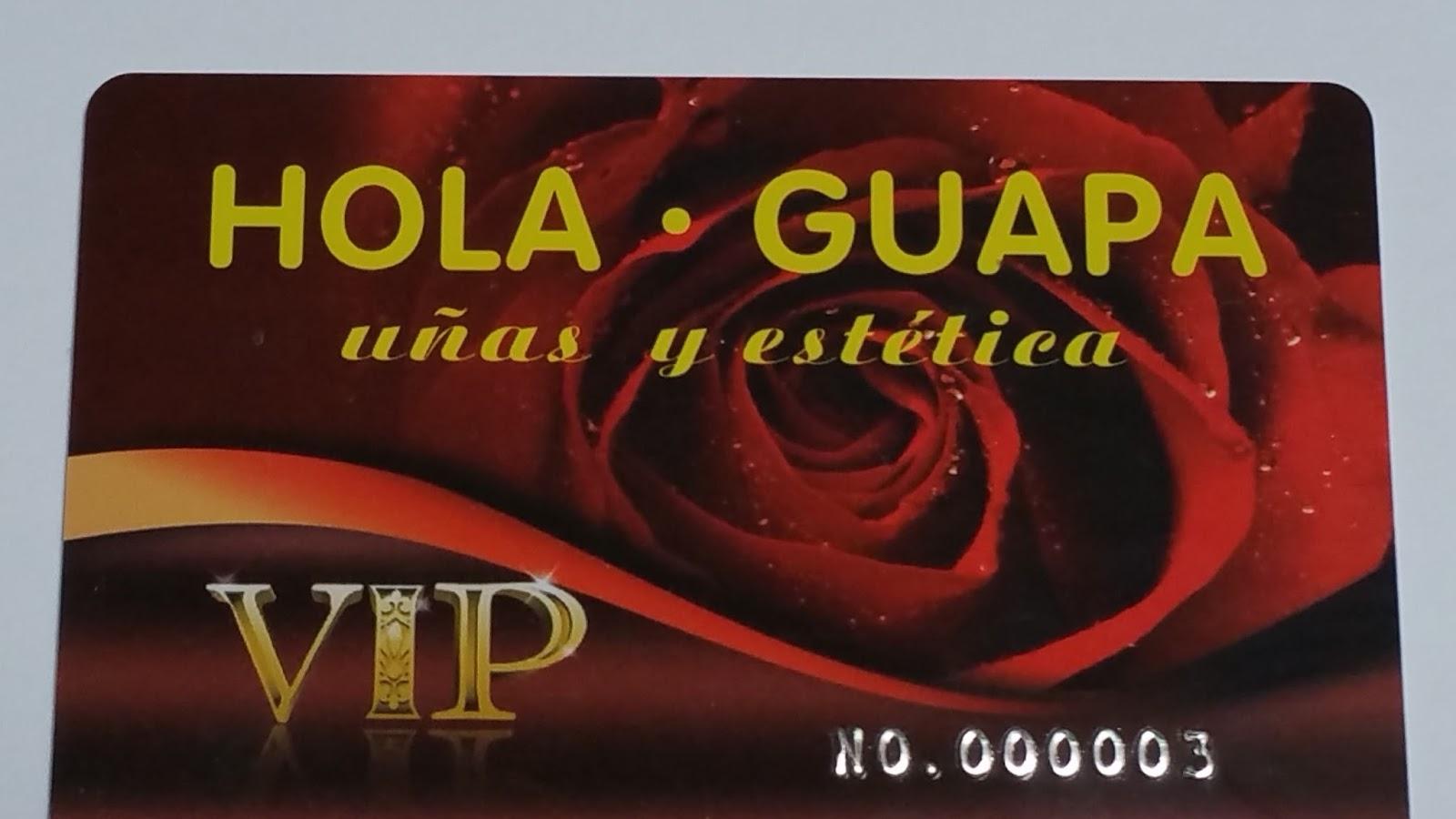 Hola Guapa Bienvenida Globalización