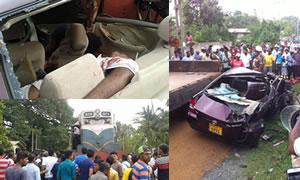 Train Accident In Wadduwa