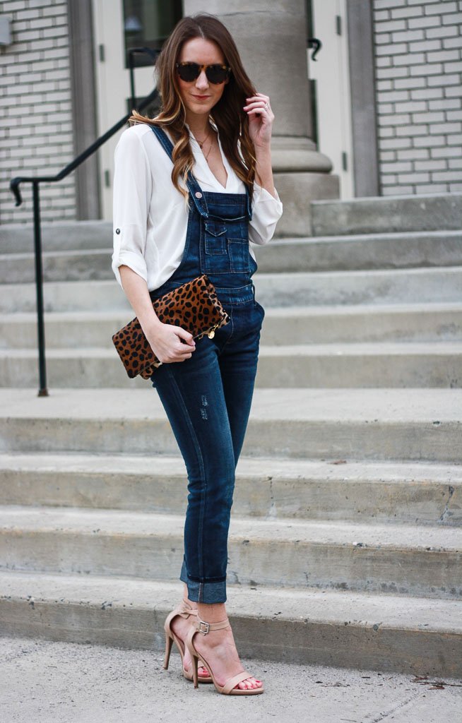 bb78b3a7d42 How to Wear Overalls  Dressed Up Overalls + WIWT Link Up - Twenties ...