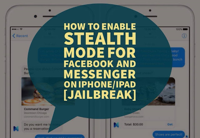 enable stealth mode for Messenger and Facebook app for more privacy on iOS.