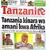 UHONDO: MAGAZETI YA LEO TANZANIA NA NJE MEI 27, 2018