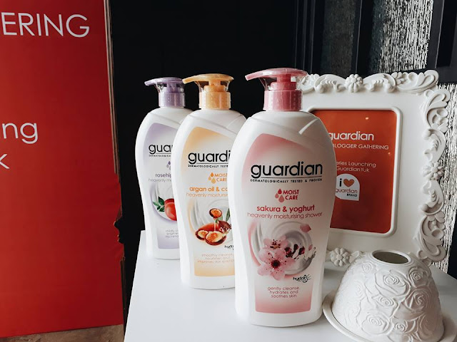 Guardian #BathSeries Moist Care Series Review #KeGuardianYuk