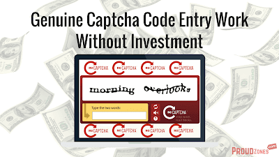 Genuine Captcha Code Entry Work Without Investment