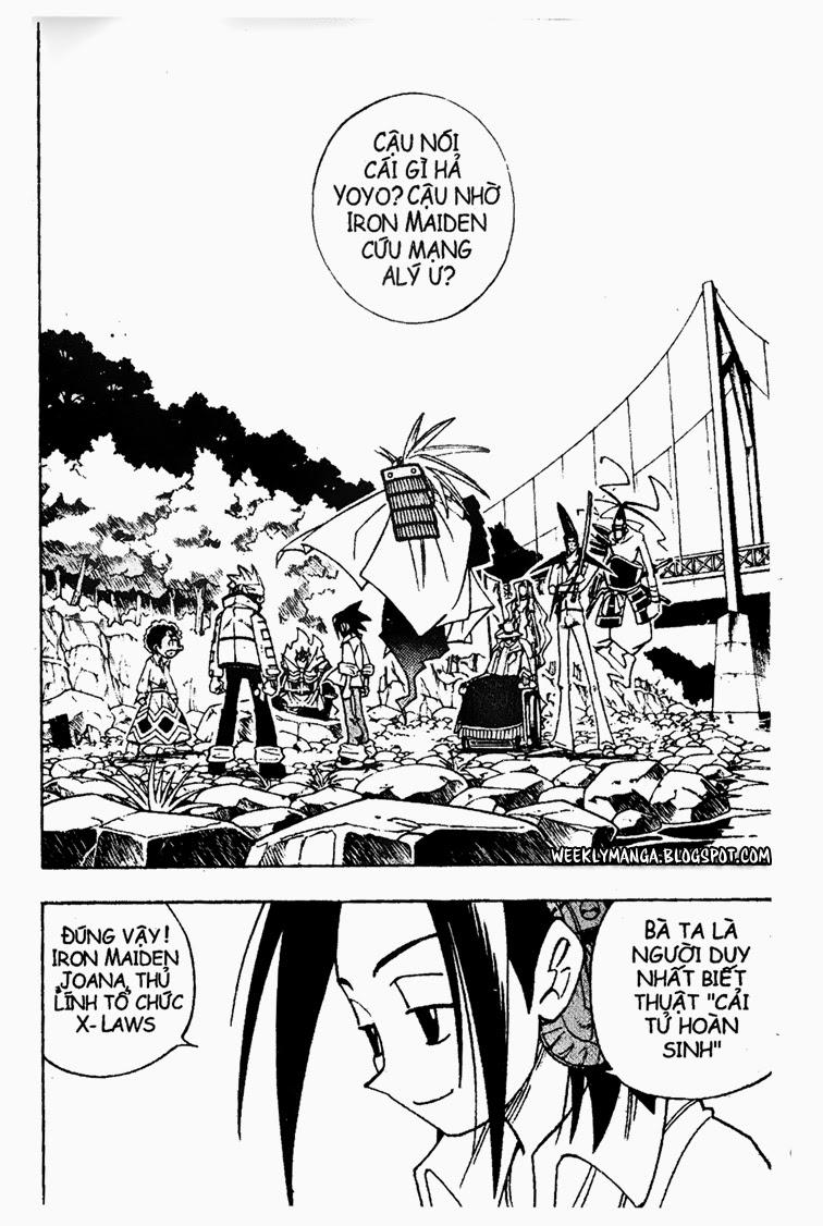 Shaman King [Vua pháp thuật] chap 156 trang 3