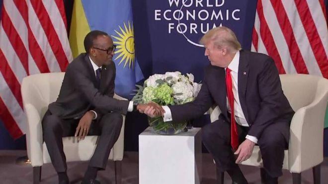 Donald Trump Ampa Salamu Kagame Kuzifikisha kwa Viongozi wa Afrika