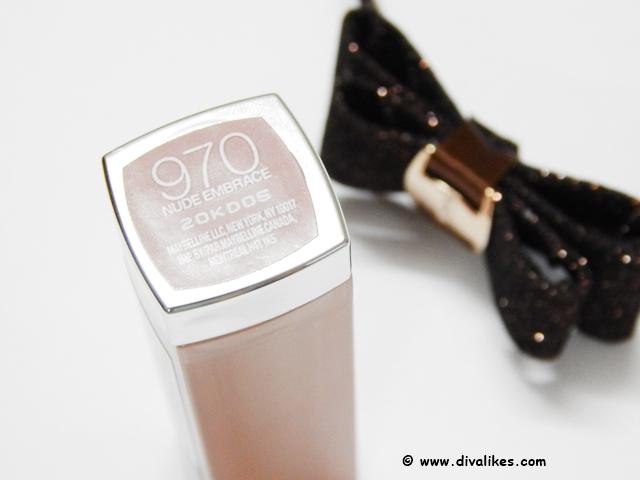 Maybelline Color Sensational Lipstick Nude Embrace 970