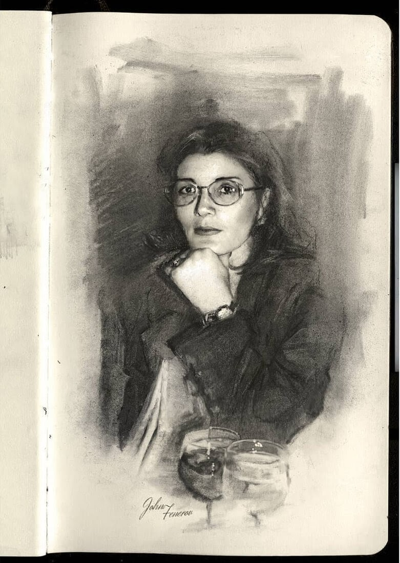 09-Mother-in-Moscow-Charcoal-and-Graphite-Portrait-Drawings-www-designstack-co