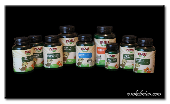 NOW® Pet Supplements for Dogs and Cats