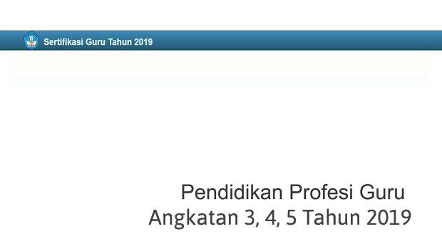 ppg angkatan 3,4,5