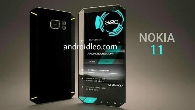 Nokia 11 express music X concept smartphone