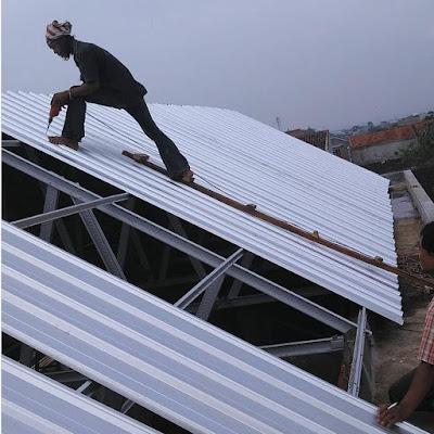 Cara Memperbaiki Atap Baja Ringan Yang Kebocoran Dijamin Berhasil