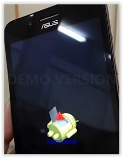 android logo - Hard Reset Asus Zenfone GO ZC500TG