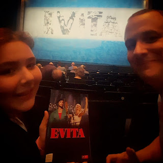 Top Ender and Flyfour in the audience at Milton Keynes Theatre