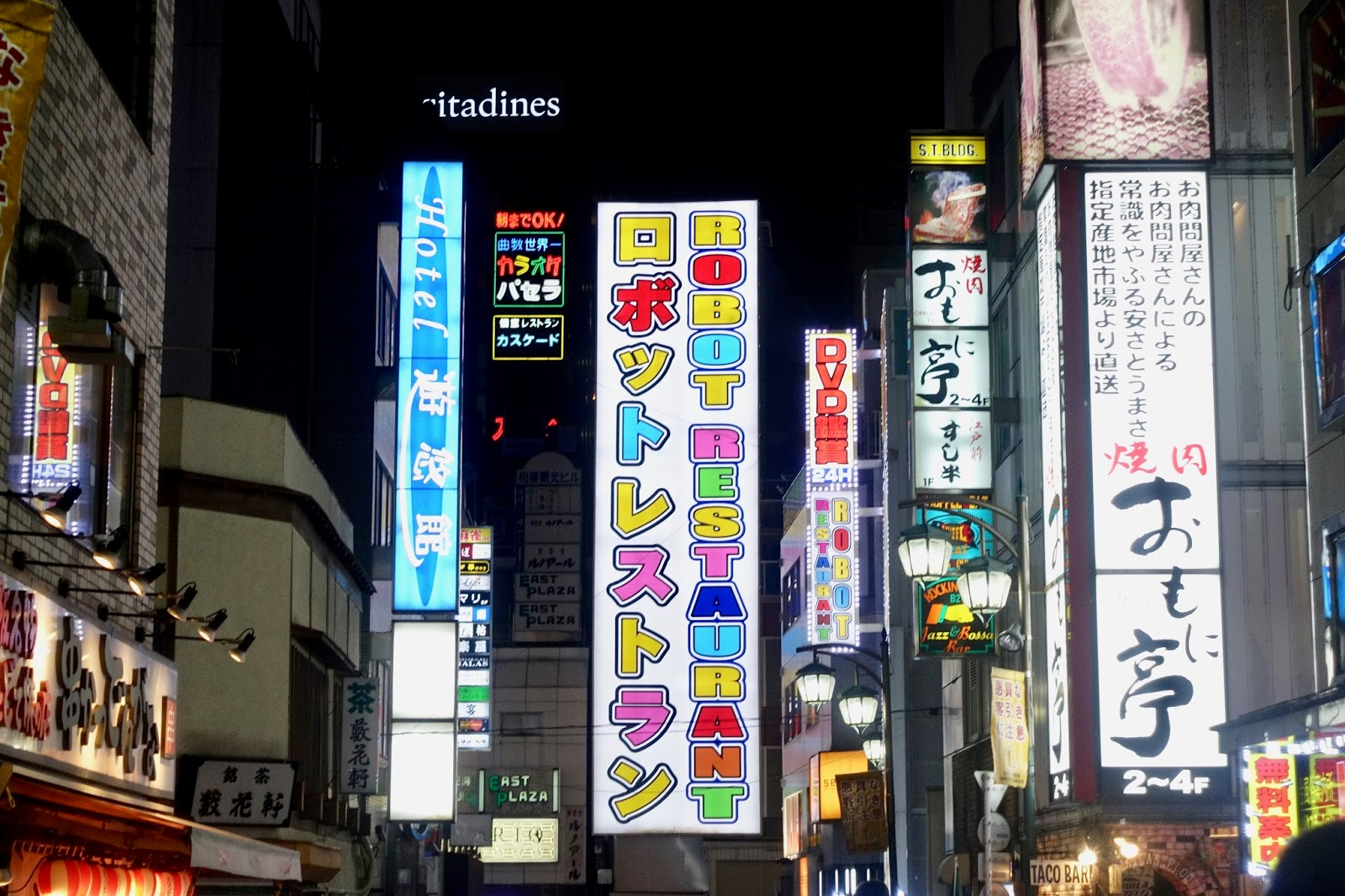 SHINJUKU AT NIGHT JAPAN