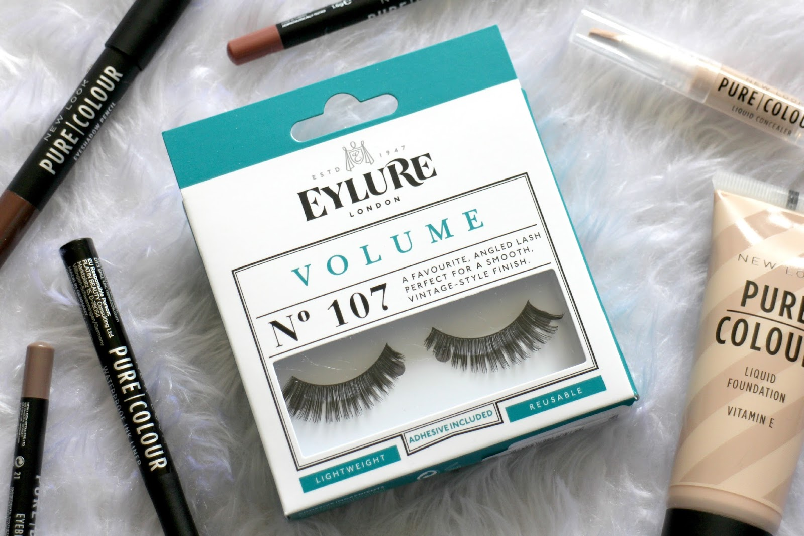 Eylure London Black No 107 Natural False Lashes