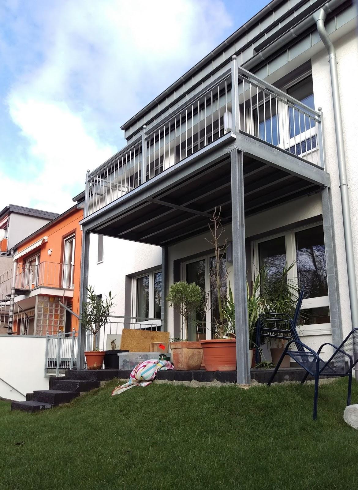 Balkon Stahl Vorstellbalkon Frobel Metallbau