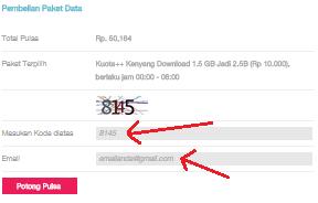 Cara mudah beli paket tri online, aplikasi bima tri
