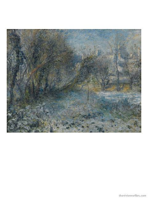 Paysage de Neige by Pierre-Auguste Renoir