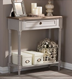 French Provincial Style Console Table