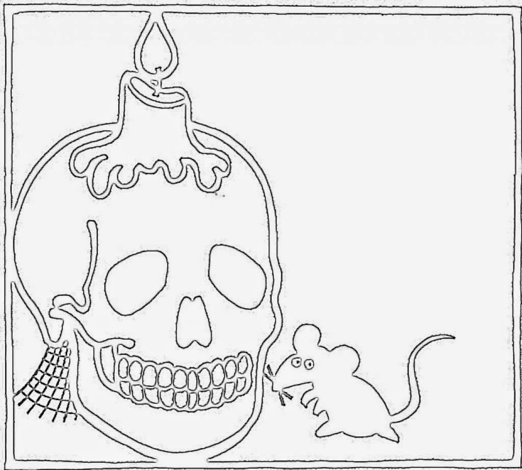 Coloring Pages: Skull Free Printable Coloring Pages