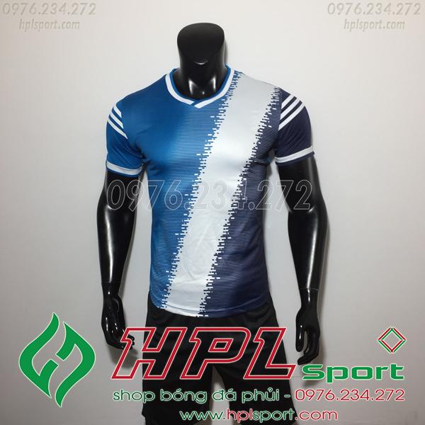 Áo bóng đá không logo TL HML Vidad  màu đen