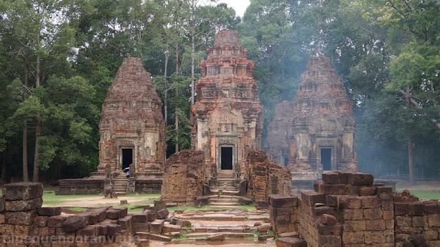 Bakong, ruinas, camboya, presupuesto mochilero