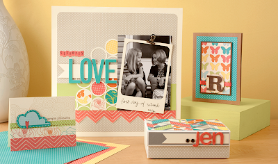Dotty for You - National Scrapbooking month special