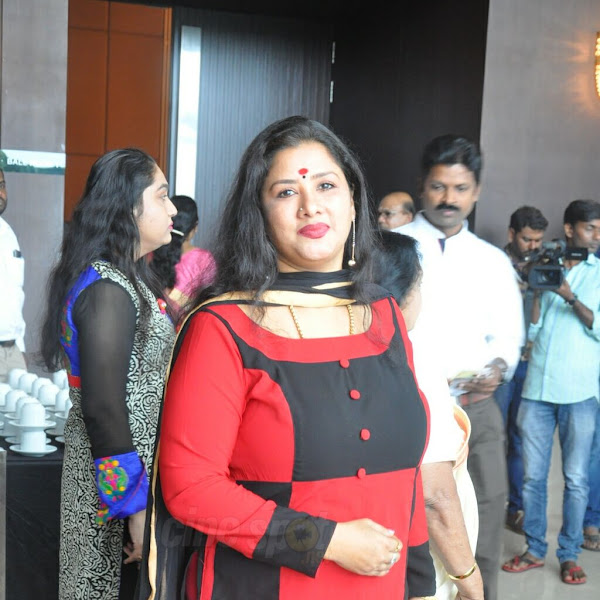 Kanya Bharathi latest photos from AMMA general body meeting 2016