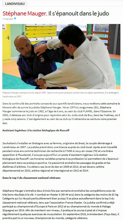 http://www.letelegramme.fr/finistere/landivisiau/stephane-mauger-il-s-epanouit-dans-le-judo-17-05-2015-10631465.php#